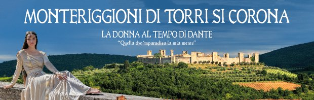 Monteriggioni is crowned by towers