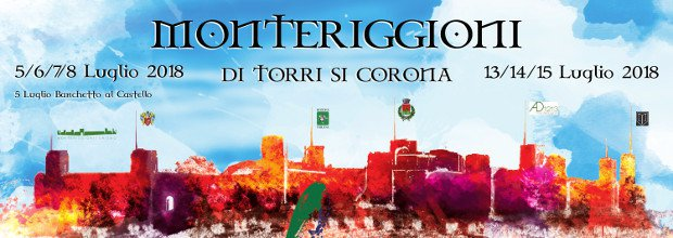 Monteriggioni is crowned by towers-Medieval Festival of Monteriggioni